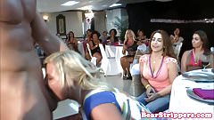 Real bachelorette cocksucking at her party