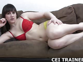 Describe to me what your own cum tastes like CEI