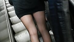 candid pantyhose sexy legs 245
