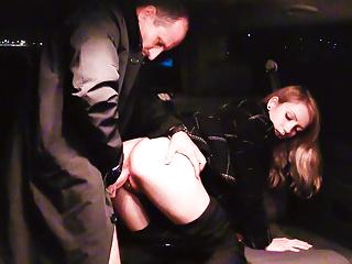 VIP SEX VAULT - Hot Czech Beatrix Glower Rides Cabby's Cock