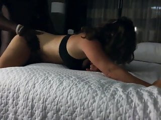 Brunette Milf Fucked Hard From Behind