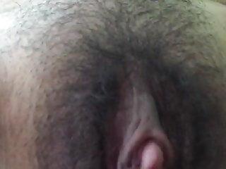 Owłosione anal creampie