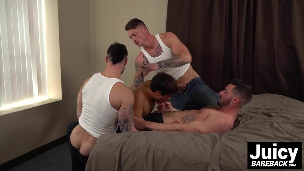 Barebacked Stud Connor Halsted Enjoys His Therapy Session