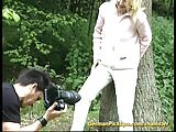cute german teen picked up for sex in nature