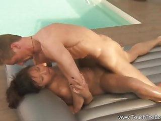 Nuru Massage Makes Him Horny
