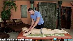 Sara Vandella Seduces her Big Dicked Masseur