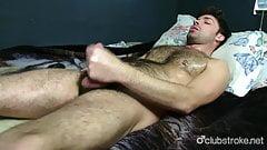 Hot Straight Adam Masturbating
