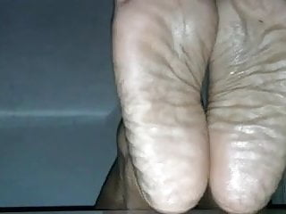 Thick wide ebony soles