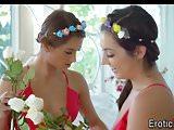 Gorgeous teen lesbians