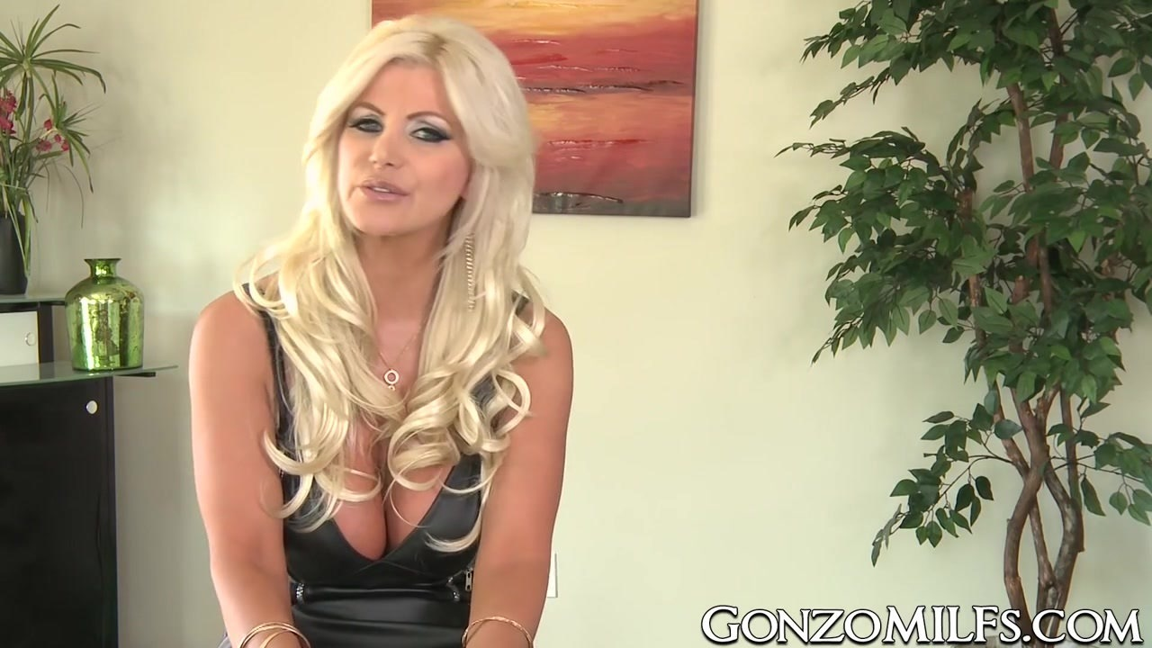 Busty MILF Brittany Andrews fed with cum after hard fucking