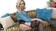 Lovely mature mother seduce lucky son