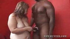 BBW Babe Dani Stripped And Cock Sucks