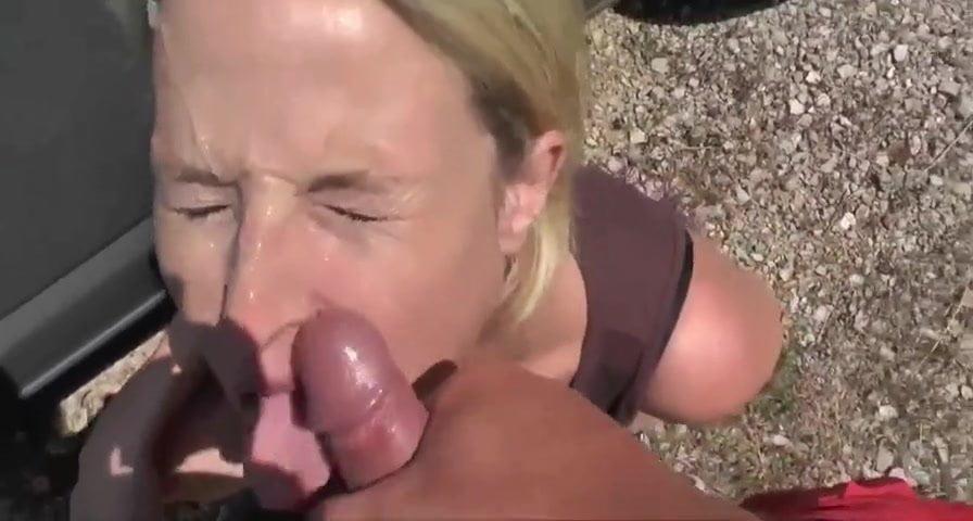 Hot German Slut pays for the Car Repair Service