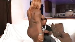 Fat black slut fucked by a thug