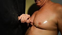 Terry Lavigne takes Load on Chest