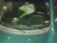 Otra pareja cachonda en auto