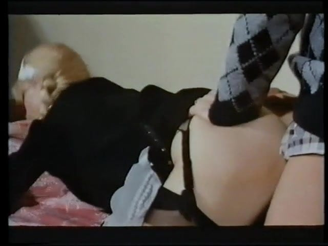 Vintage Hairy Bush Reverse Cowgirl--Cum On Ass