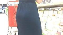 Beautiful Milf in Blue Dress