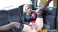 it`s very HOT  Michelle Thorne licks Sophie Anderson in the car