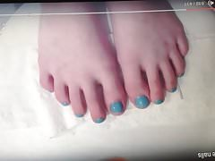 Just some sexy feet that I had to tribute