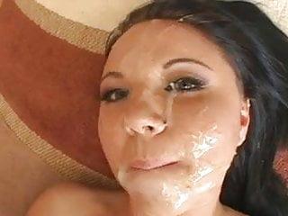 Lindlay deepthroats and fucks 4 cock for facials DTD
