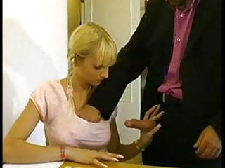 Tonton Cochon French Blonde Try Anal Fuck