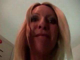 Blond MILF fucks with a stranger