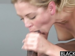 Blacked hot blonde cherie deville takes big black cock Thumbnail