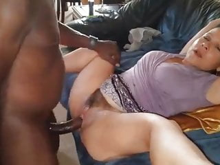 Mature Enjoys Big Black Cock While Dirty Talking To Husband