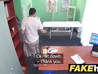 Preview 1 of Fake Hospital Cock hungry oriental French chick gets fucked
