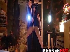 BDSM Casting. Submissive witch punished and fucked