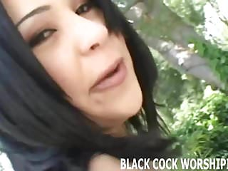 Watch me taking two big black cocks at the same time