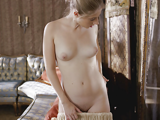Younger Maid plays with her pussy in her Lady  039 s room