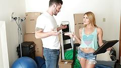 Storage Locker Sex with Abby Cross