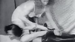 Bonded Girl gets Spanked by Mistress (1950s Vintage)