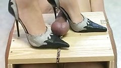 Have femdom high heels cock can not