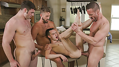 FamilyDick - Twink Gets His Body Covered In Hot Cum