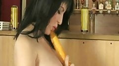 Sexy Busty MILF Uses Her Toy