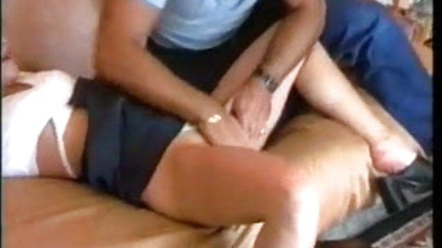 sort / hvid sexbånd