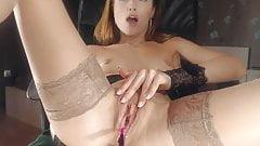 Nasty Russian webcam girl