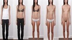 Dressed - Undressed Teens