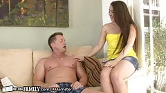 Lola Foxx helps out Best Friends Dad