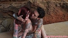 Inked alt beauty screwed outdoors 's Thumb