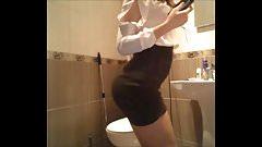 Webcam moi en jupe pour mon patron