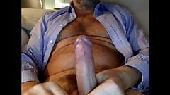 dad accidentally shows off his cock