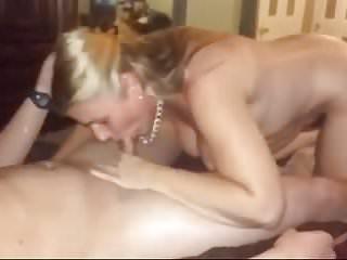 Older slut Angela suckin more cock and lickin balls