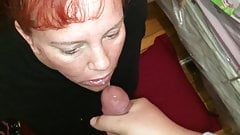 Fat Bitch Wanted To Eat Cum..