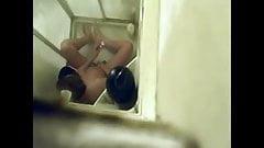 a mom caught masturbating in the shower - hidden