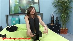 cute 18 year old tiny skinny asian with tounge ring gets sla