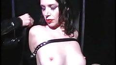 Lesbian sluts bound in leather